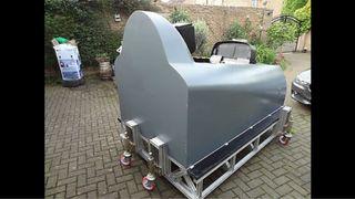 Cabina De Avión De Caza Simulador