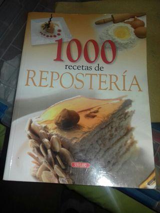 1000 recetas de reposteria