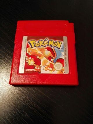 Juego Pokemon Rojo Gameboy