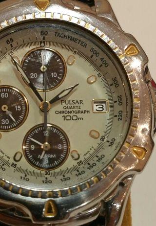 Reloj Pulsar de vintaje cuarzo resistente 100m