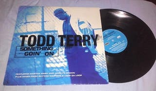 Disco vinilo de Todd Terry (something goin' on).