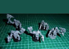Warhammer 40k 5 noblez orkos NUEVOS