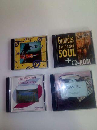 CD.Música..Vivaldi (Musica antigua al Barroco ).Soul. Grandes exitos)..Grandes éxitos musica Clásica..Ravel (Obras Célebres)