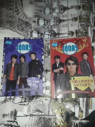 Libros Jonas Brothers