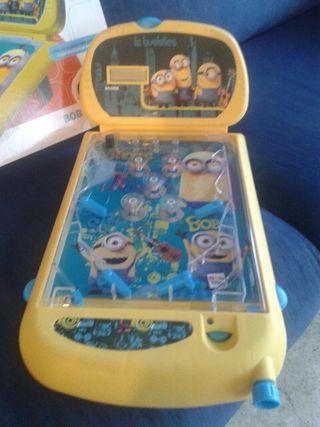 Super Pinball minions con luces y sonido