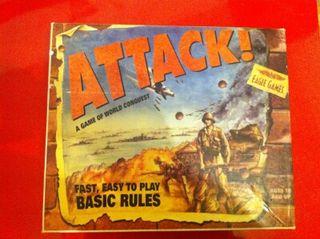 Juego de mesa attack