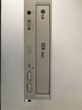 Lector de compact disk para ordenador