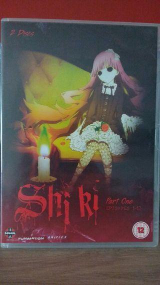 Dvd anime shiki en inglés parte 1