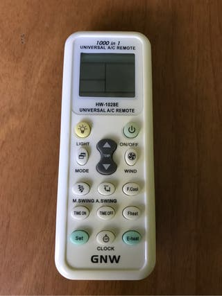 Mando universal a/c remote