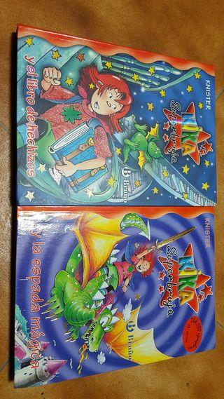 2 libros de KIKA superbruja