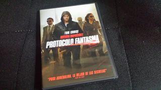 DVD Misión Imposible. Protocolo fantasma