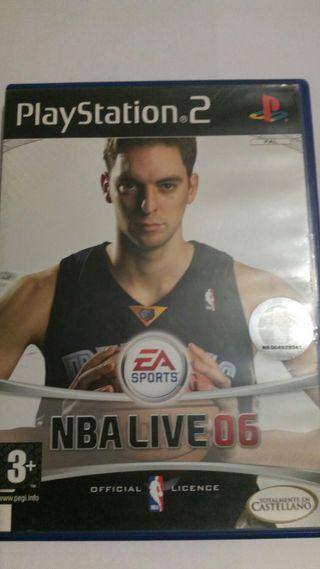 NBA LIVE 06 PS2