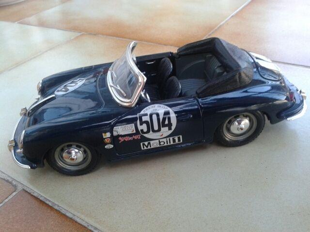 Porsche 356 B (1961) maqueta metal