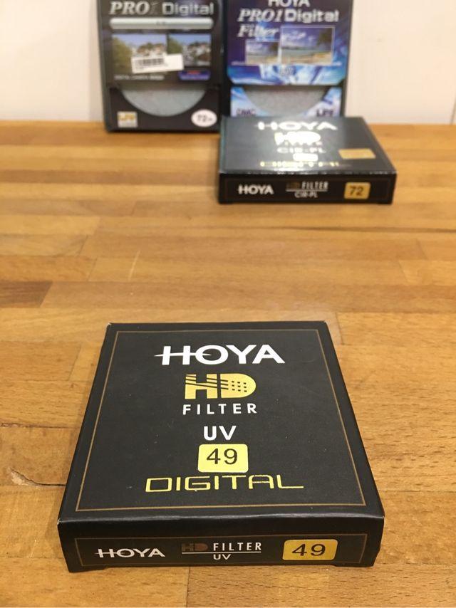 Filtro HOYA HD UV 49mm