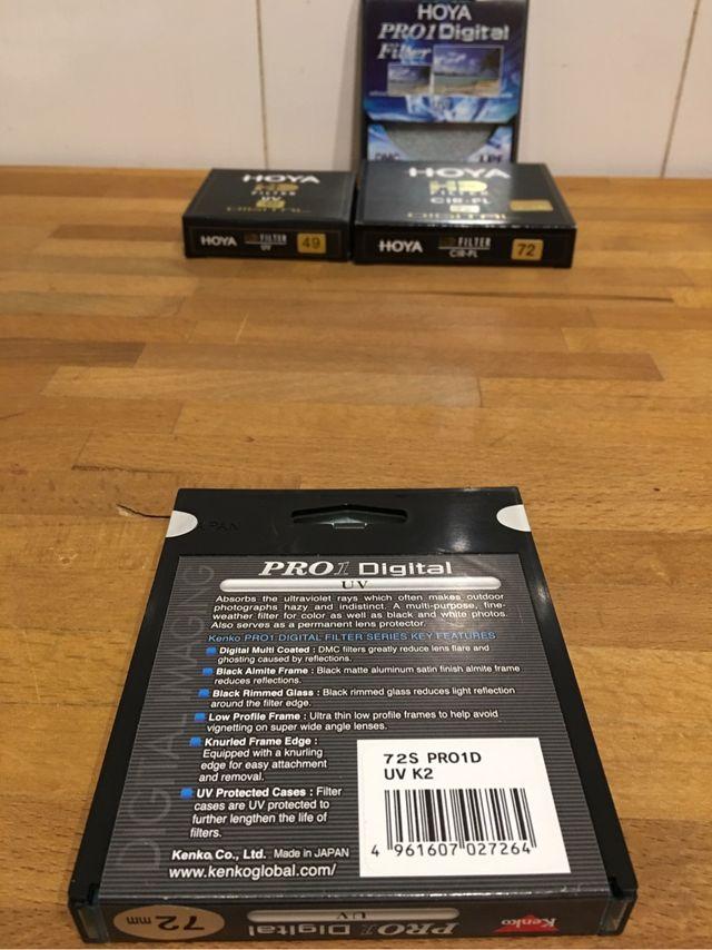 Filtro KENKO Pro1 UV 72mm