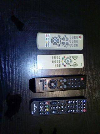 Lote de mandos a distancia