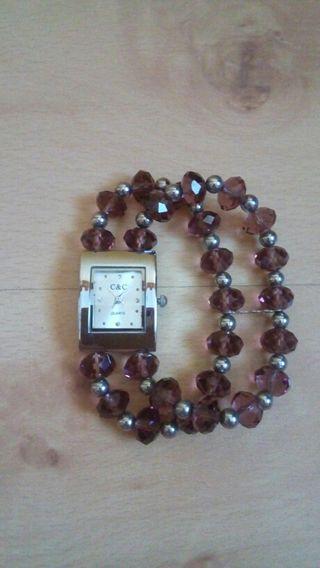 Reloj pulsera elástica