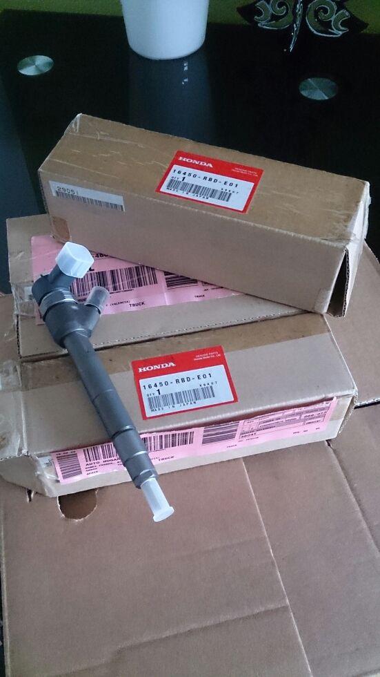 Inyectores honda 16450RBD-E01
