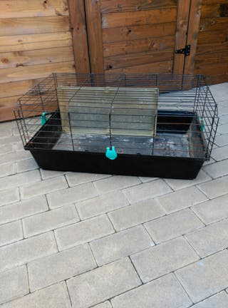 Jaula para conejos domesticos
