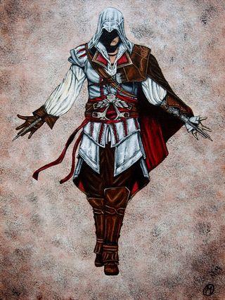Cuadro Ezio, Assasin´s Creed