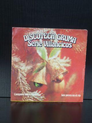 Single Discoteca Gruma. Serie Villancicos