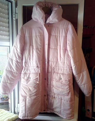 Abrigo rosa nuevo