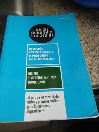 Libro de atención para personas dependientes