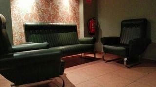 Sofa 2 sillones Tresillo autentico Vintage