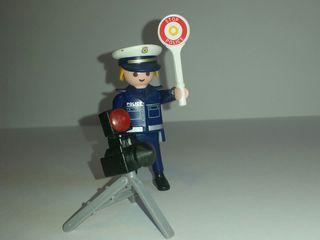 Playmobil special policía con radar