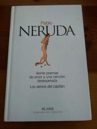 libro poesía Pablo Neruda