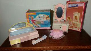 Lote chabel y barbie años 80