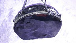 Bolso charol negro de BLANCO