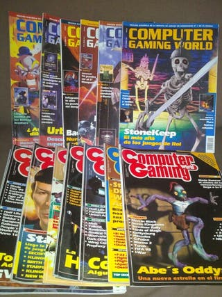 REVISTA COMPUTER GAMING WORLD, + CD 1996