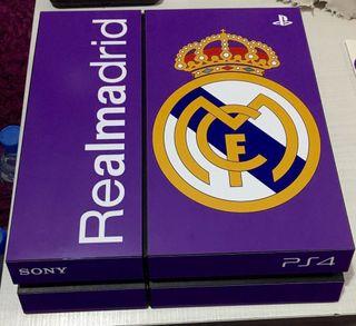 Vinilo skin playstation4 real Madrid ps4