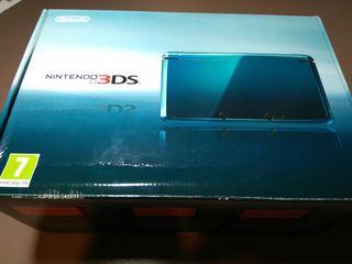 Nintendo 3DS color azul