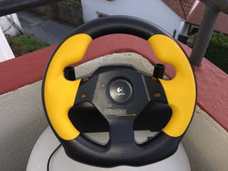 Volante + pedales para pc