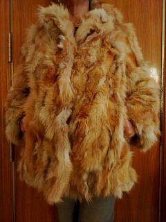 Abrigo piel de lobo