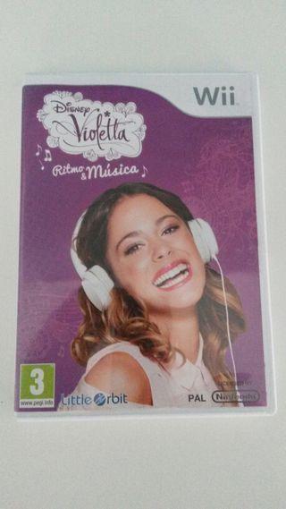 Wii - Violetta Ritmo & Musica