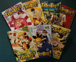 Manga Zatch Bell!! (del 1 al 7)