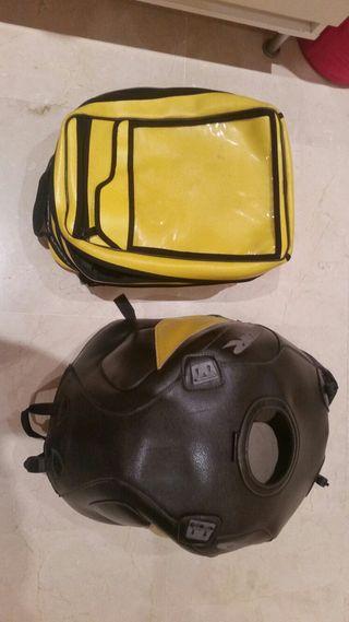 Cubre deposito y maleta CBR 900