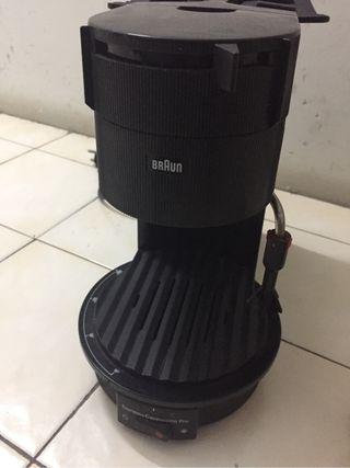 Cafetera Braun presión