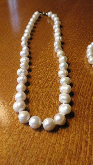 c1ac31e07f04 Collar de perlas australianas de segunda mano en WALLAPOP