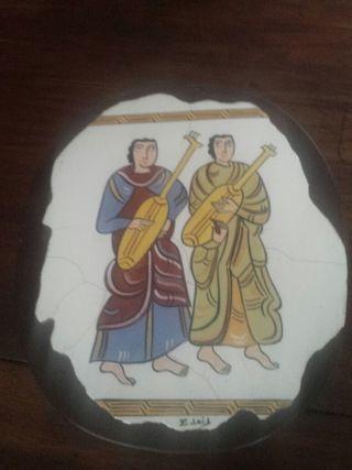 CUADRO TOTALMENTE DE BARRO
