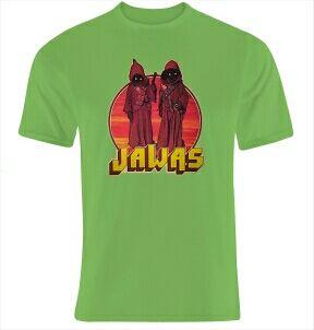 Camiseta nueva Jawas Star wars