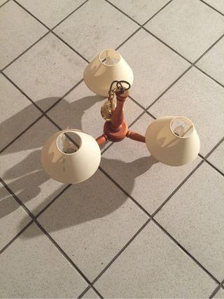 Lámpara Madera Pino