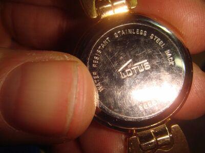 Reloj pulsera LOTUS femenino 9595 sin uso