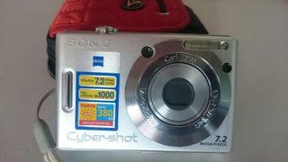 Cámara Sony 7,2mpx.