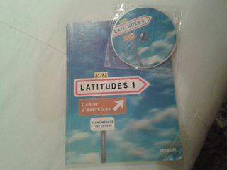 Libro francés, nivel A1/A2, Latitudes 1
