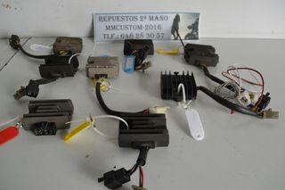 Reguladores rectificadores para motos custom