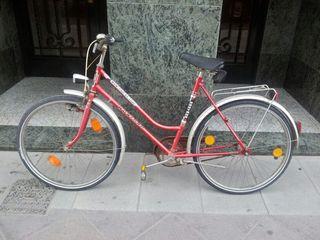 Antigua bici Vintage con frenos en pedal